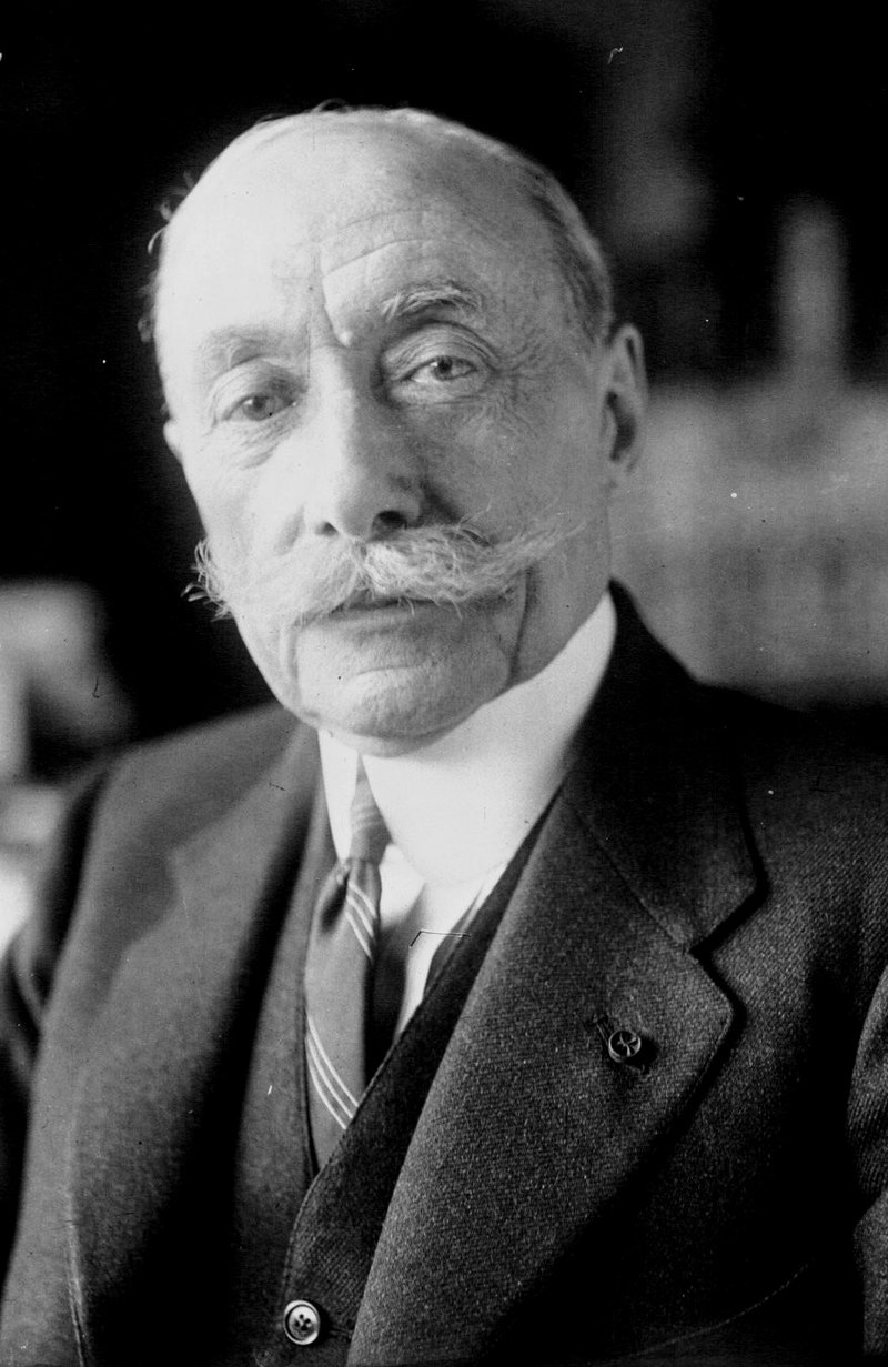Composer André Messager in 1921.