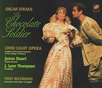 "The Newport Classic album of ""The Chocolate Soldier,"" based on a new Ohio Light Opera translation."