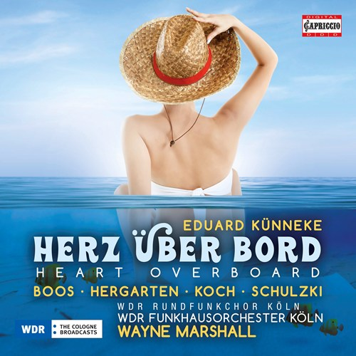 "The Capriccio recording of ""Herz über Bord"" based on a 2017 WDR production."