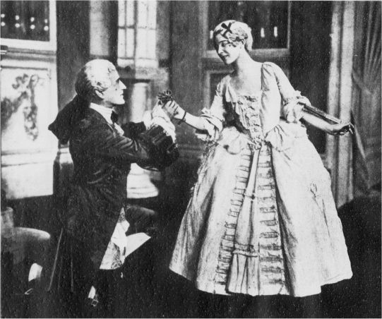 "Marion Green and Maggie Teyte in André Messager's ""Monsieur Beaucaire,"" 1919."