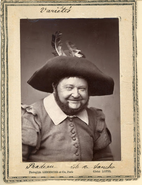 The actor Pradeau as Sancho Panza. (Photo: Archive Kurt Gänzl)