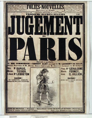 "Advertisement for the ""Jugement of Paris"" in Folies-Nouvelles. (Photo: Archive Kurt Gänzl)"