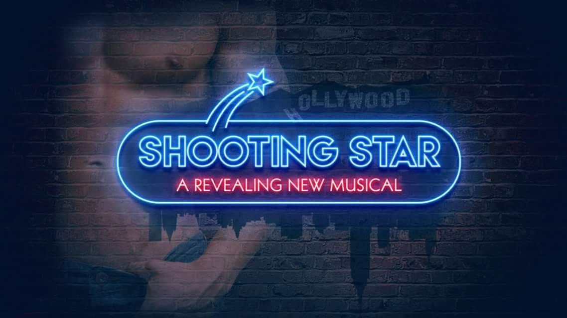 "The key visual for ""Shooting Star,"" a new musical by Florian Klein and Thomas Zaufke."