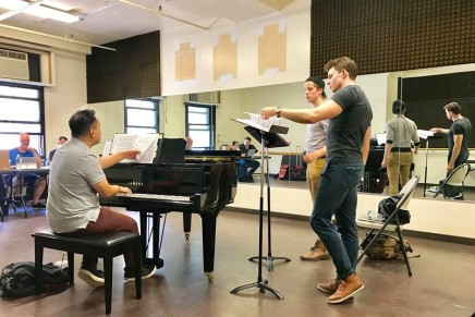 """Shooting Star"": A Romantic Musical Comedy About The Gay Porn Industry? Interview With Composer Thomas Zaufke"