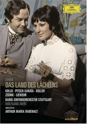 "DVD of ""Land des Lächelns"" starring Rene Kollo and Dagmar Koller. (Photo: Deutsche Grammophon)"