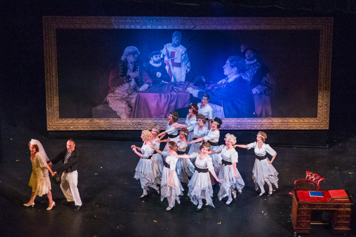 "The 2018 production of ""Ruddigore,"" National G & S Opera Company. (Photo: Jane Stokes)"
