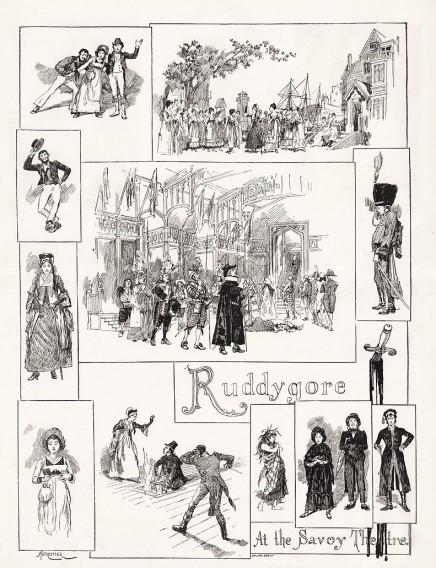 """National Gilbert & Sullivan Opera Company: """"Ruddigore"""" At Buxton Opera House"""