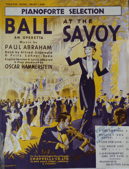 """Ball at the Savoy"": An ""Alluring Hotch-Potch"" At Drury Lane (1933)"