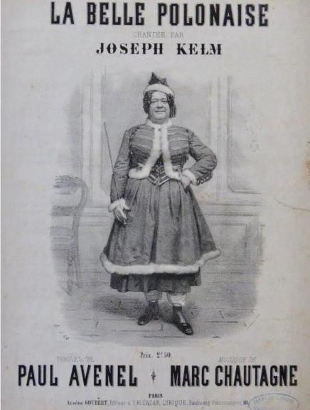 """The Pretty Polish Girl Who Sat Astride Her Virtue"": Early Opéra-Bouffe Star Joseph Kelm (1805-1882)"