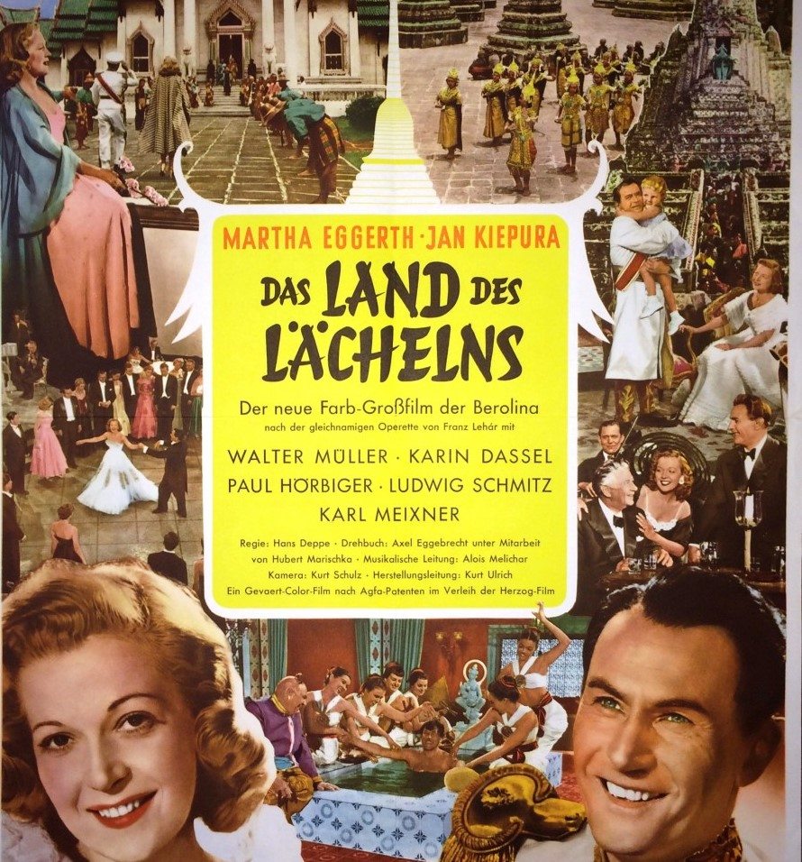 "The 1952 film version of ""Land des Lächelns"" with Marta Eggerth and Jan Kiepura."