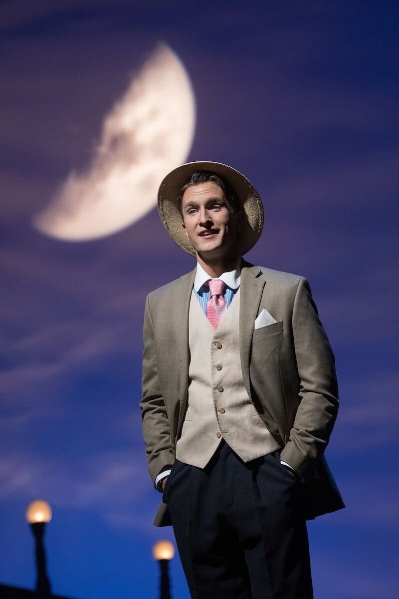 "Stephen Faulk in the 2018 production of Cole Porter's ""Fifty Million French Men"" at Ohio Light Opera. (Photo: Matt Dilyard)"