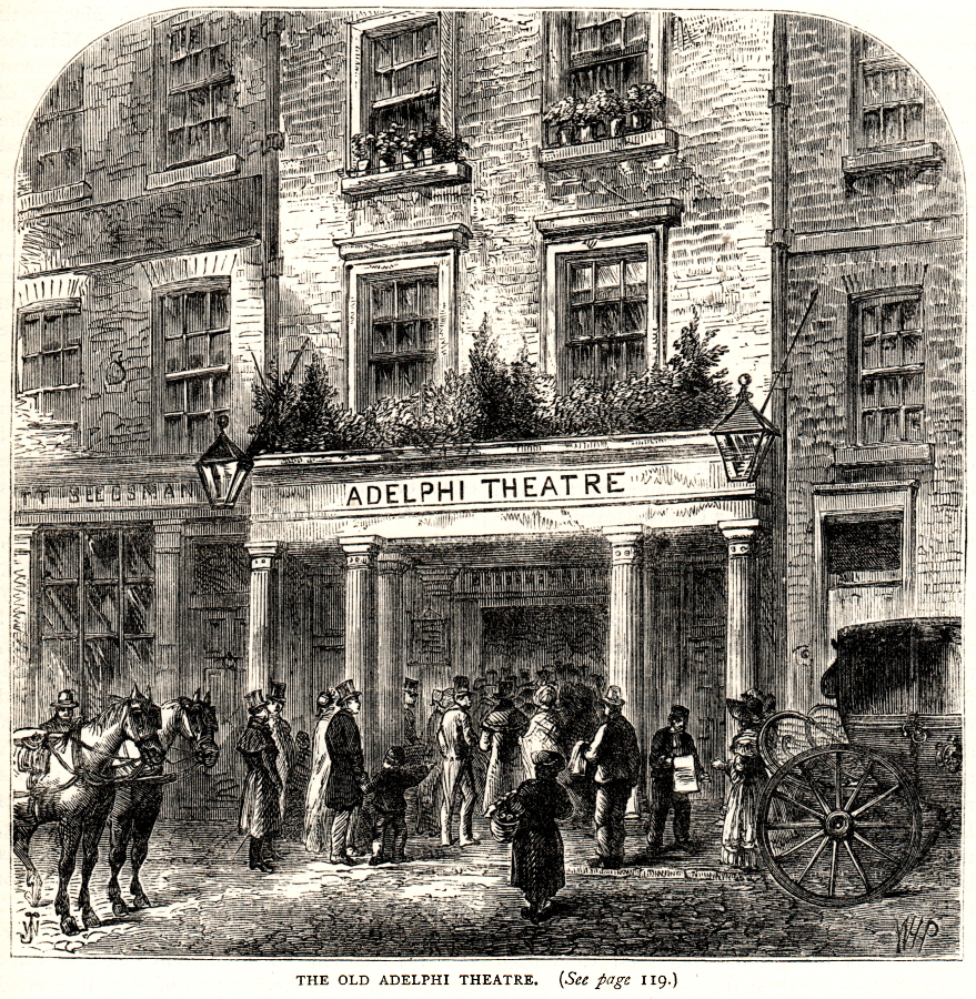 The 'old' Adelphi Theatre in London.
