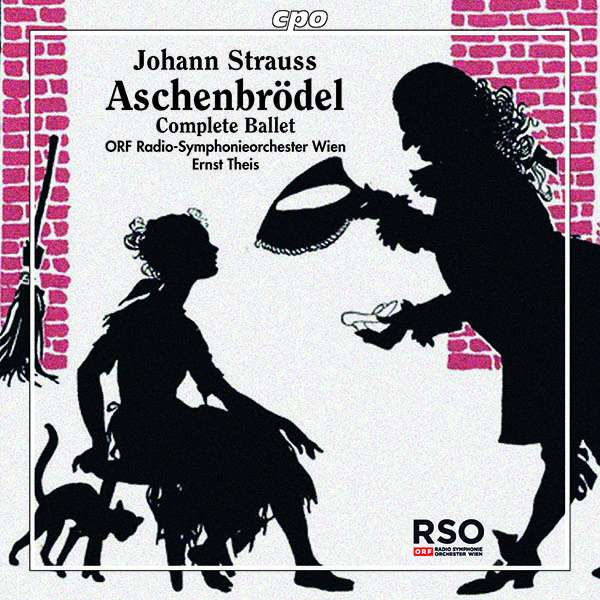 "The 2014 recording of ""Aschenbrödel,"" released on CD in 2018 by cpo."