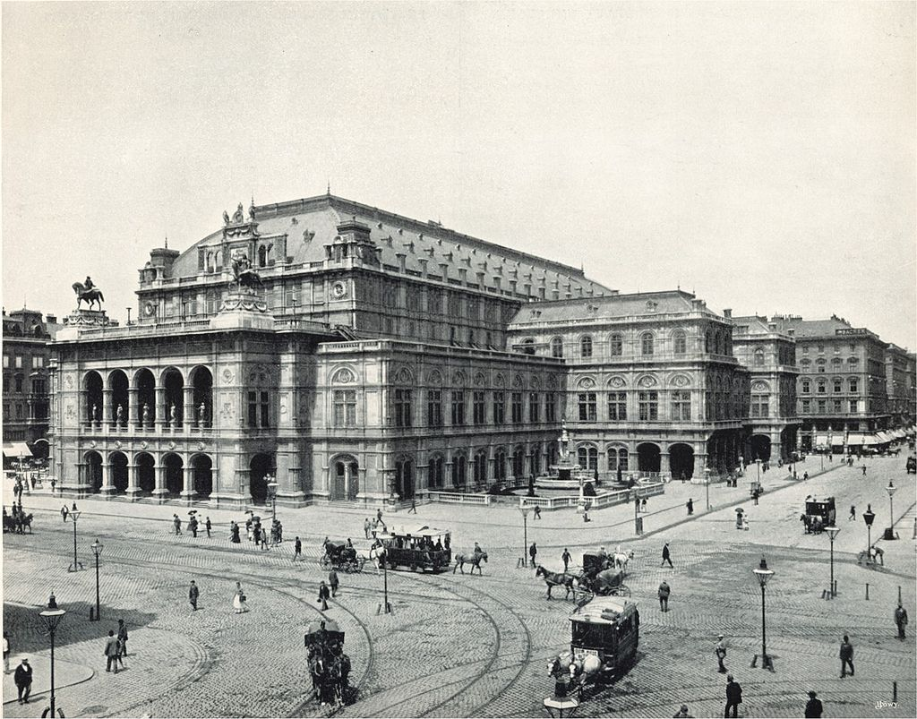 The Vienna Court Opera in 1898, when Gustav Mahler was artistic director.