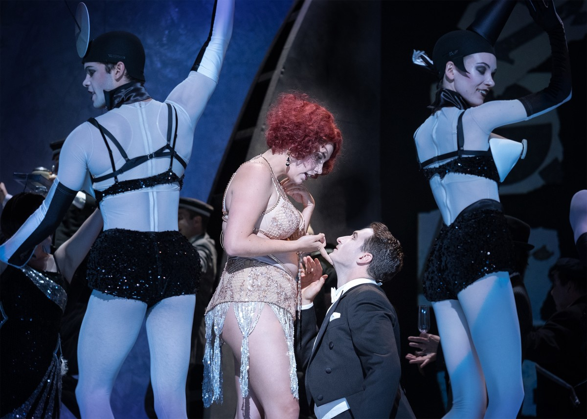 "Elissa Huber (Sylva Varescu), Lucian Krasznec (Edwin), Wiener Staatsballett in ""Csardasfürstin"" at Volksoper Wien, 2018. (Photo: Alfred Eschwé)"