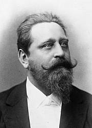 Conductor and composer Josef Bayer around 1900.