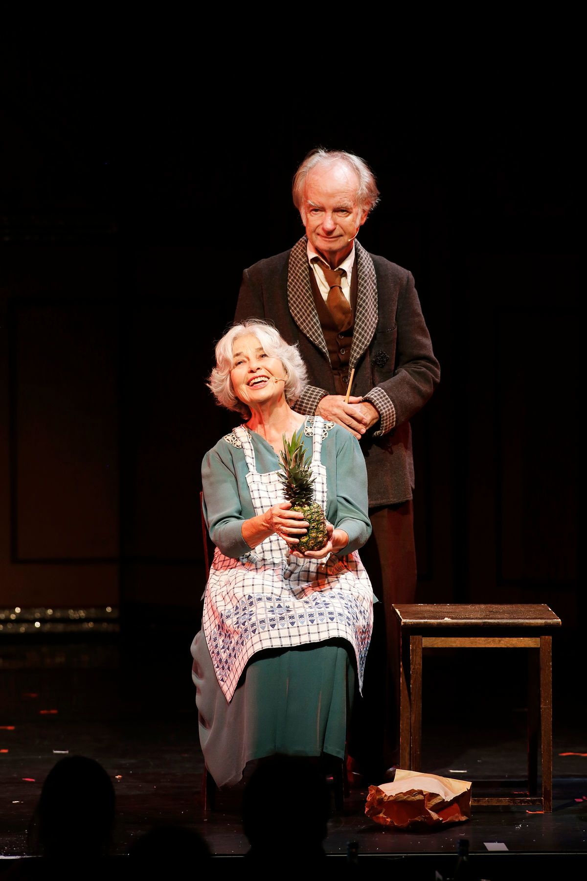 "Regina Lemnitz and Peter Kock in ""Cabaret."" (Photo: Barbara Braun)"