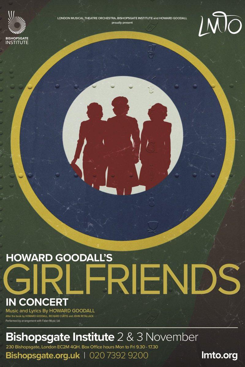 "Howard Goodall's ""Girlfriends,"" at the Bishopsgate Institute 2018."