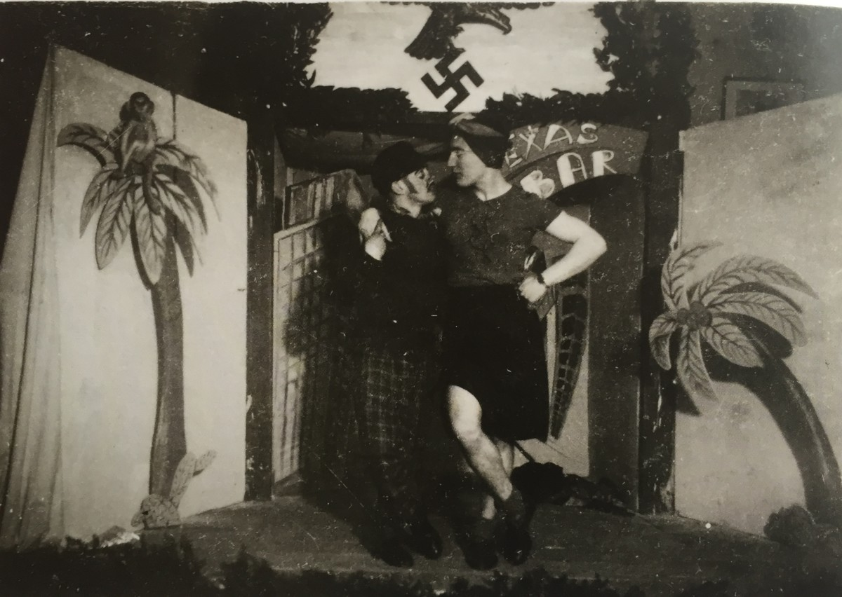 "From the chapter ""Unit Celebrations/Kompaniefeste"" in Martin Dammann's ""Soldier Studies."" (Photo: Sammlung Martin Dammann)"