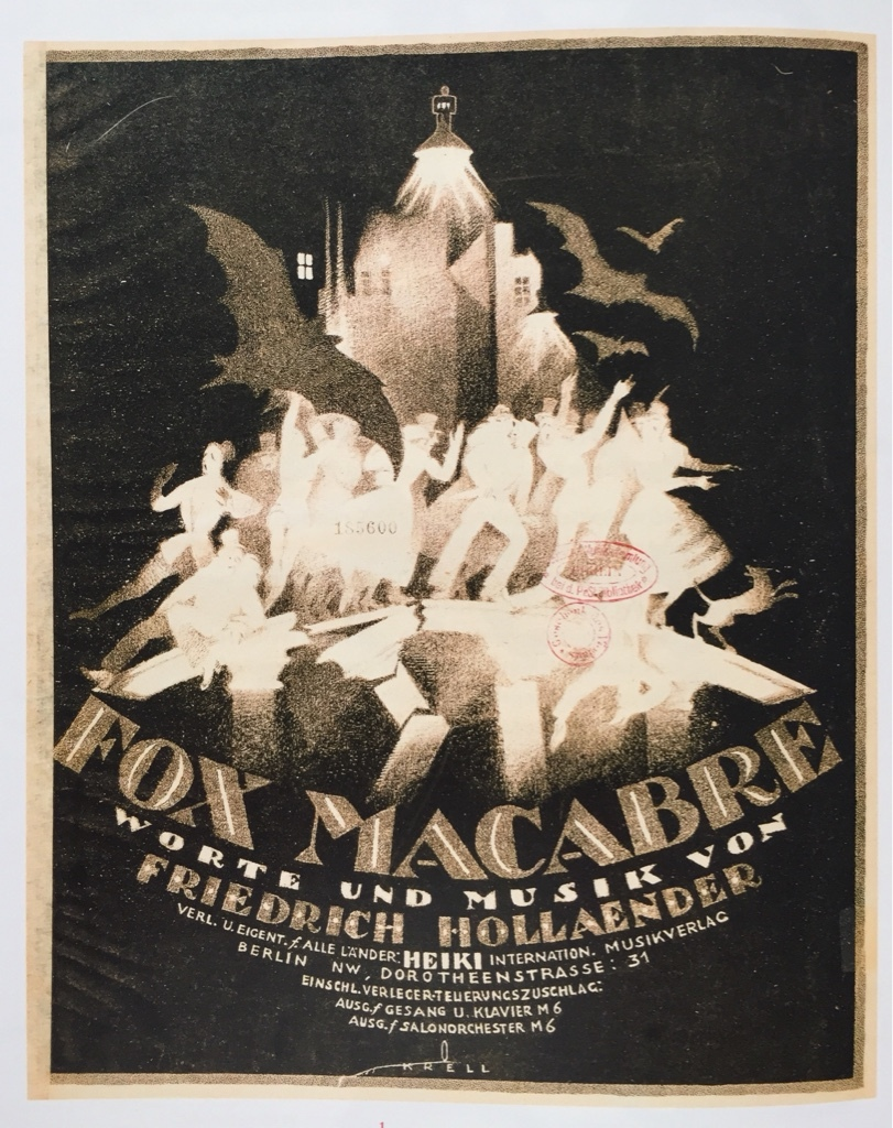 "In 1920 Friedrich Hollaender summed up the events of the revolution 1918/1919 in the song ""Fox Macabre."" (Photo from the catalogue ""Berlin in der Revolution 1918/1919,"" Verlag Kettler / Staatliche Museen zu Berlin)"