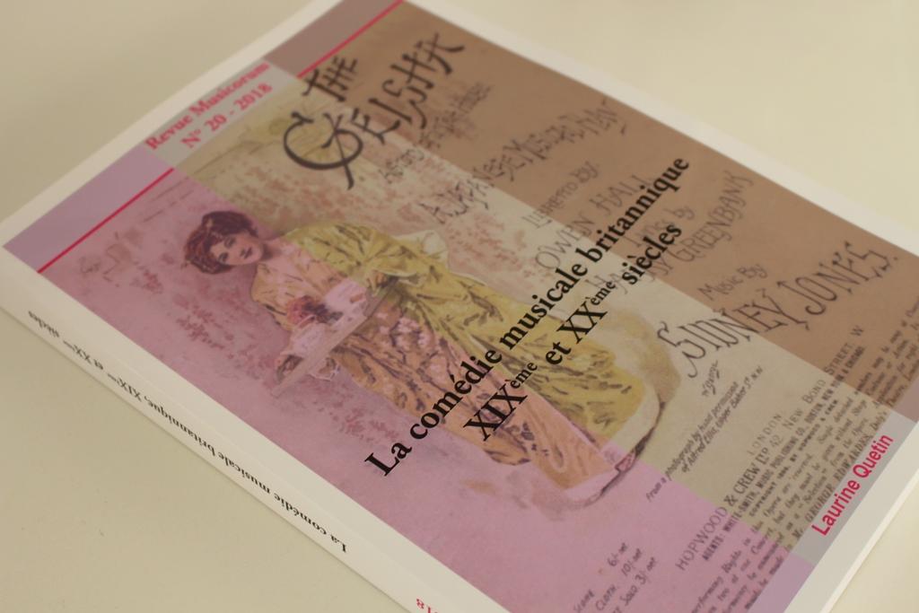 """""""La comédie musicale britannique XIXème et XXème siècle"""" in the series Revue Musicorum no. 20 / 2018."""
