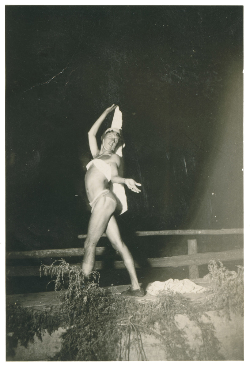 "From the chapter ""Front"" in Martin Dammann's ""Soldier Studies."" (Photo: Sammlung Martin Dammann)"