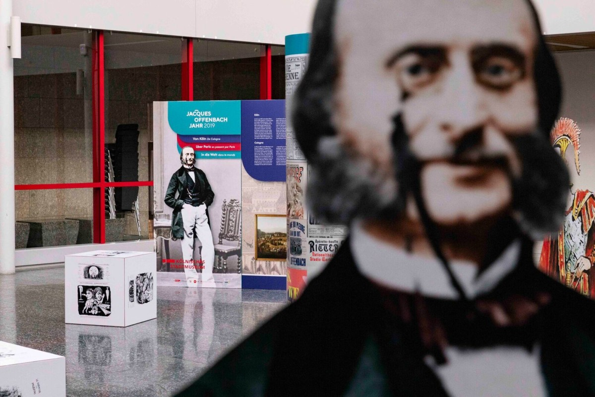 The Jacques Offenbach exhibition in Cologne. (Photo: Urban Media Project)