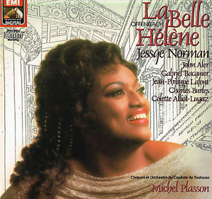 "Jessye Norman on the cover of the 1985 recording of ""La Belle Hélène."" (Photo: EMI Music France)"