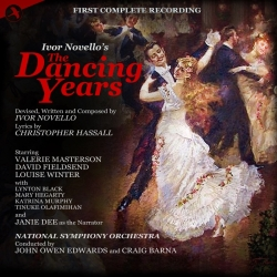 "The CD cover for ""The Dancing Years"" on JAY Records, released in 2018."