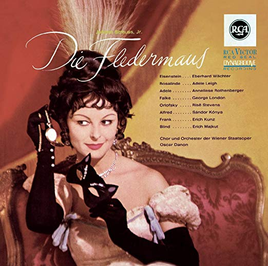 "The RCA English-German version ""Die Fledermaus."""