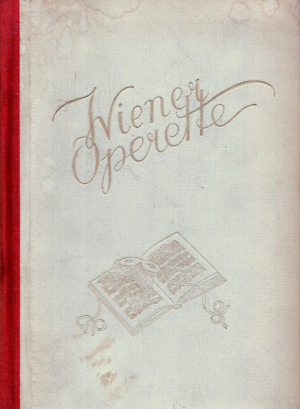 """Franz Hadamowsky and Heinz Otte, """"Die Wiener Operette. Ihre Theater- und Wirkungsgeschichte,"""" 1947."""