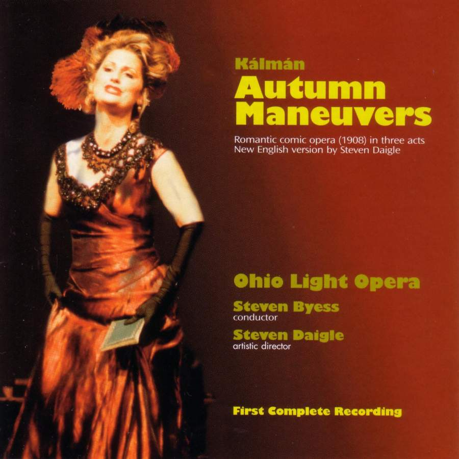 "The 2003 version of ""Autum Maneuvers"" from Ohio Light Opera. (Albany Records)"