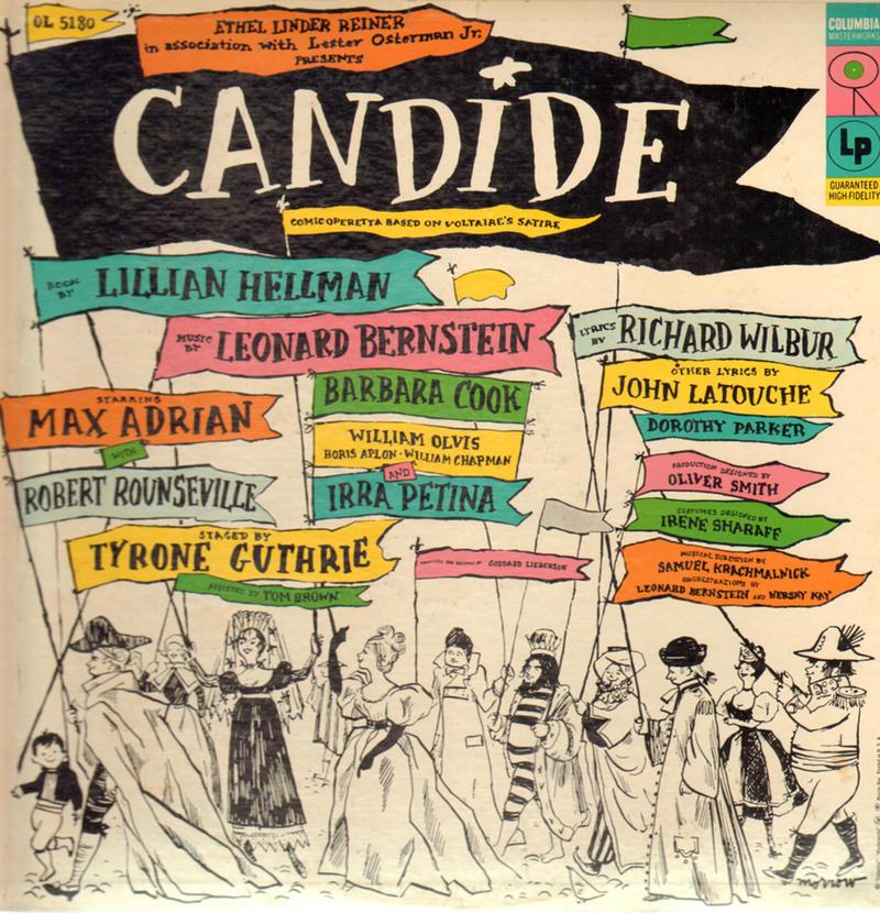 "The original 1956 cast album of ""Candide."" (Photo: Columbia Records)"