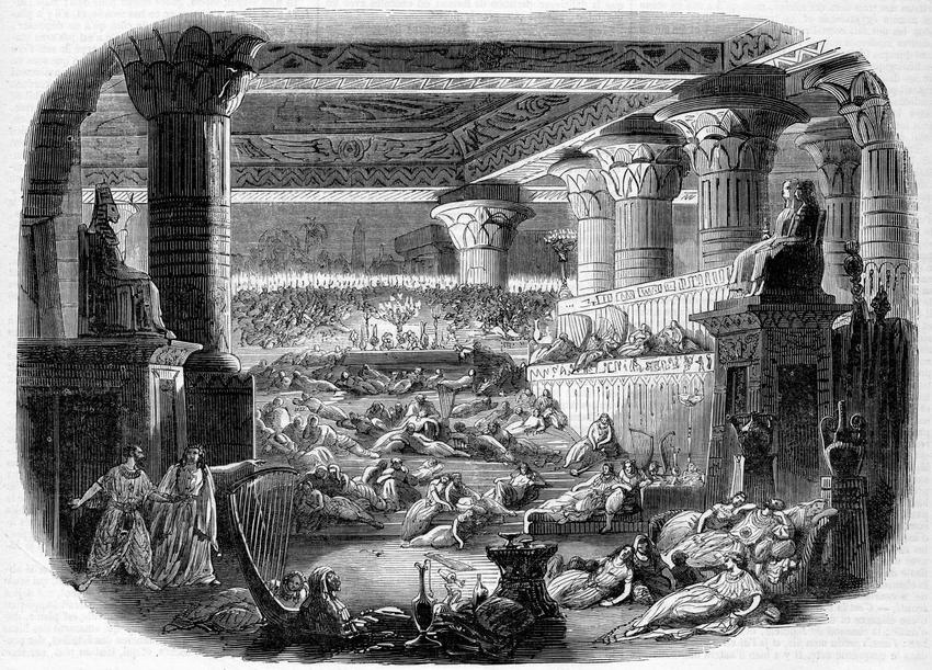 """Daniel Auber's """"L'Enfant prodigue,"""" at the Théâtre de l'Opéra, 1850."""