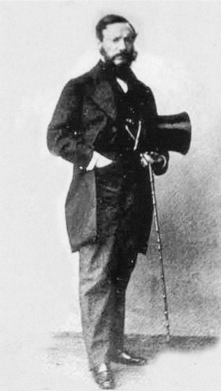 Photo from a carte de visite of Nestor Roqueplan (1805–1870).