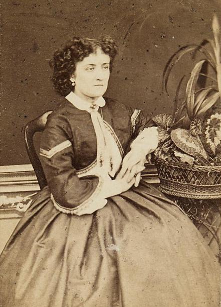 Anna Grobecker around 1860. (Photo: Th. Chramosta)