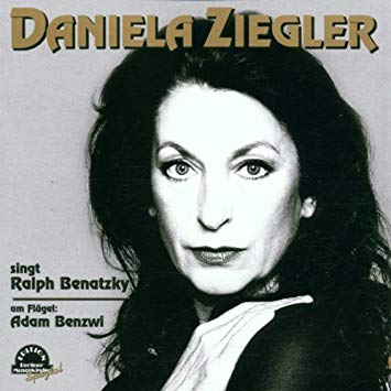 The Daniela Ziegler album of Benatzky chansons, with Adam Benzwi at the piano. (Photo: Duophon Records)