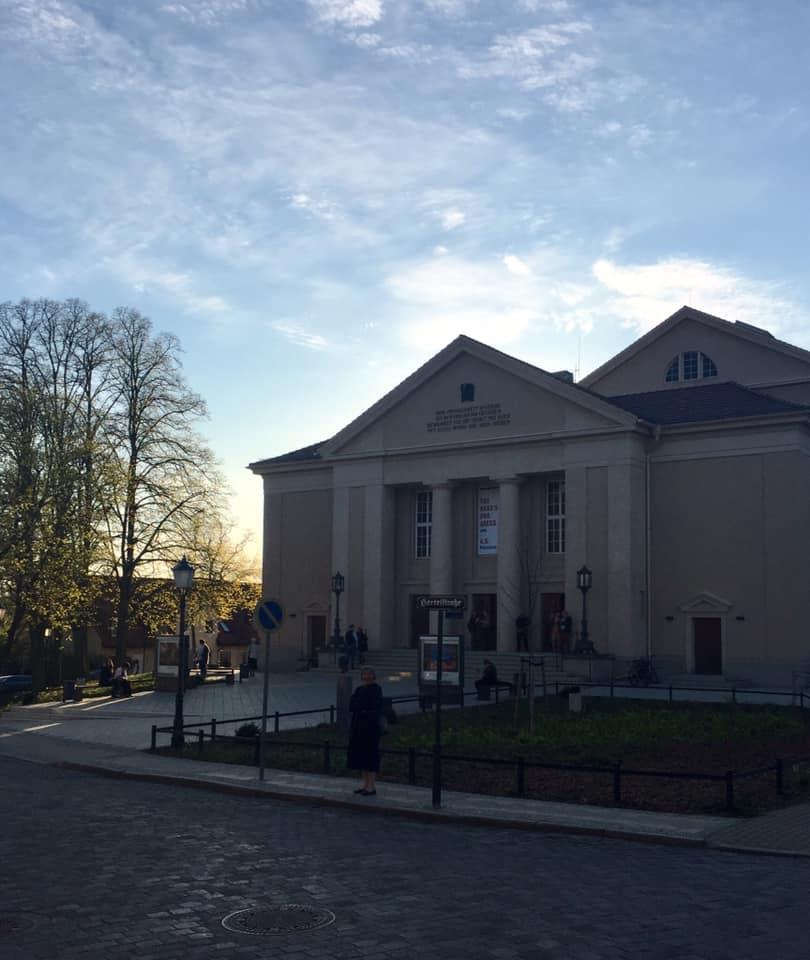 The theater in Neustrelitz. (Photo: Private)