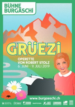 "Poster for the 2019 production of ""Grüezi"" in Burgäschi. (Photo: Bühne Burgäschi)"
