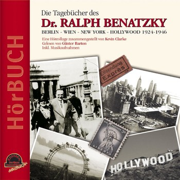 The audio book version of Ralph Benatzky's dairies, read by Günter Barton. (Photo: Duophon Records)