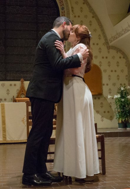Demetrie (Franz) and Leyden (Sylvia) find true love at last. (Photo: Jill LaVine)