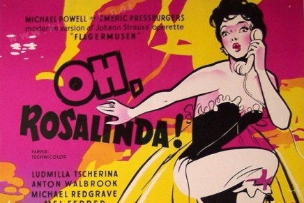 """Oh… Rosalinda!"": The Movie Version of ""Die Fledermaus"" With Adolf Wohlbrück On DVD"