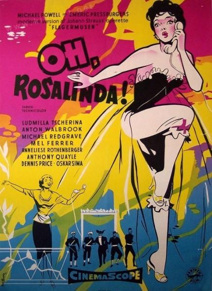"""Oh… Rosalinda!"": The Movie Version of ""Die Fledermaus"" With Adolf Wohlbrück On DVD"