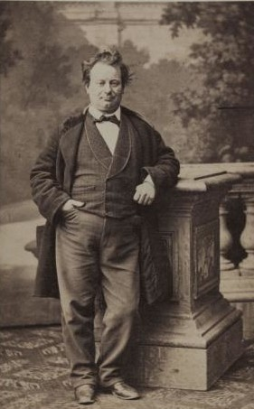 Portrait of Désiré (Amable Courtecuisse) taken between 1870 and 1890. (Photo: Musée Carnavalet, Histoire de Paris)
