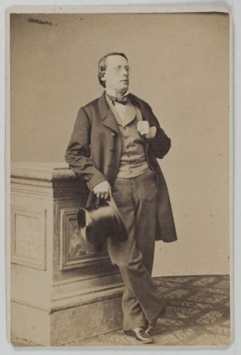 Portrait of Léonce in private attire. (Photo: Musée Carnavalet, Histoire de Paris)