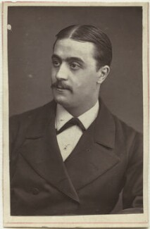 Claude Marius photographed in the 1870s in London. (Photographer: Unknown  )