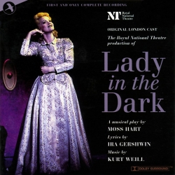 "The ""Lady in the Dark"" recording with Maria Friedman on JAY Records."