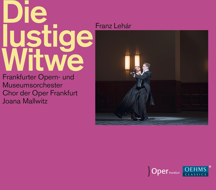 "The cover of the ""Lustige Witwe"" recording from Opera Frankfurt. (Photo: OEHMS Classics)"