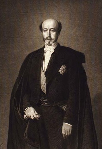 Charles Auguste Louis Joseph, duc de Morny, half-brother of Emperor Napoleon III.