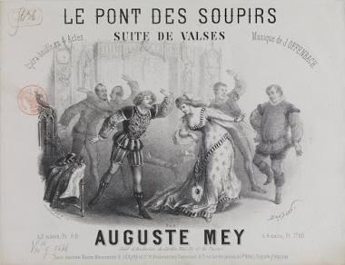"""Sheet music cover for """"Le pont des soupirs."""" (Photo: Archive Kurt Gänzl)"""